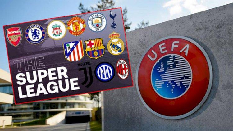 UEFA'dan kulüplere Avrupa Süper Ligi cezası!
