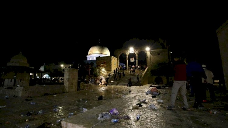 Dışişleri, İsrail polisinin Mescid-i Aksa'daki saldırısını kınadı