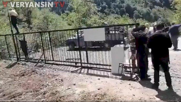 İşkencedere Vadisi'ne demir kapı konuldu