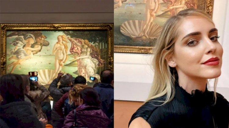 Uffizi'den fenomenlere: Poz veren para versin