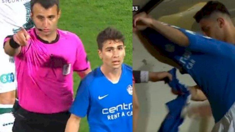 Tuzlaspor-Giresunspor maçında forma skandalı!