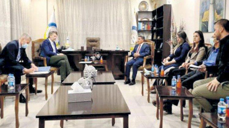 Danimarka heyeti YPG ile görüştü
