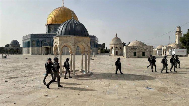Filistin Kızılayı'ndan İsrail polisinin Mescid-i Aksa saldırılarına ilişkin açıklama
