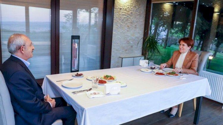 Kılıçdaroğlu ile Akşener arasında sürpriz görüşme