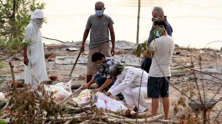 Nehirde onlarca kişinin cesedi bulundu... Korona tehlikesi sokaklarda