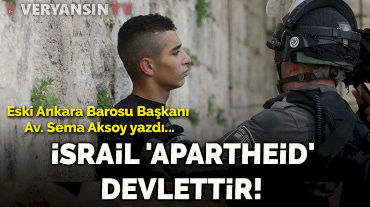 İsrail 'apartheid' devlettir! Yüzyılın davası: Filistin
