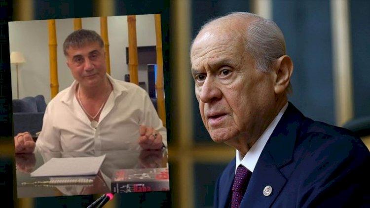Bahçeli'den 'mafya' göndermeli 'Sedat Peker' açıklaması