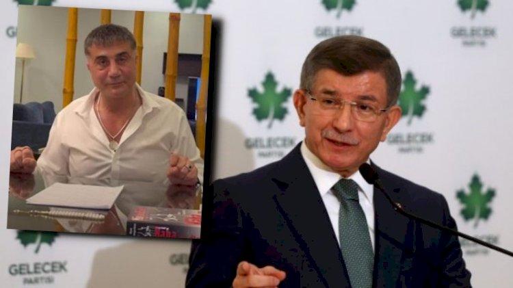 Ahmet Davutoğlu fena yakalandı... Konu: Sedat Peker