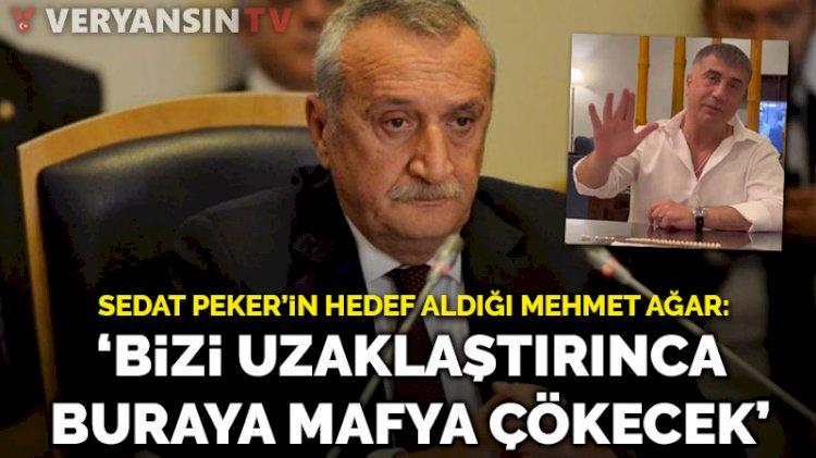 Mehmet Ağar: Bizi uzaklaştırınca buraya mafya çökecek