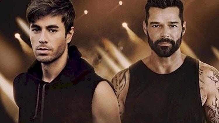 Enrique Iglesias ve Ricky Martin birlikte turneye çıkıyor