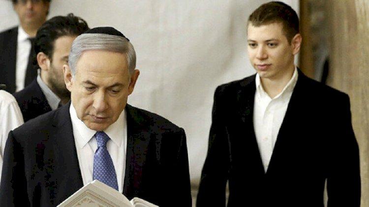 Netanyahu'nun oğlu sözde 'Kürdistan' bayrağı salladı