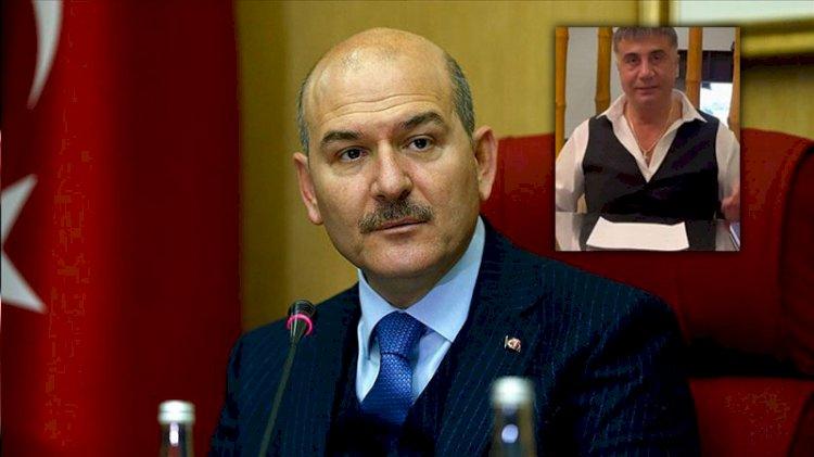 Süleyman Soylu'dan Sedat Peker hakkında suç duyurusu: İddialar araştırılsın