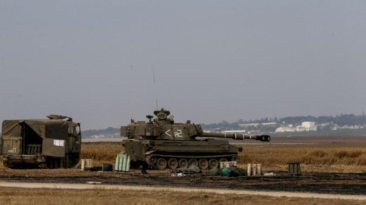 İsrail ordusundan Gazze sınırına askeri yığınak!