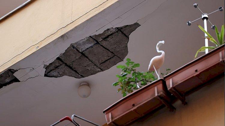 Şişli'de 6 katlı bina boşaltıldı