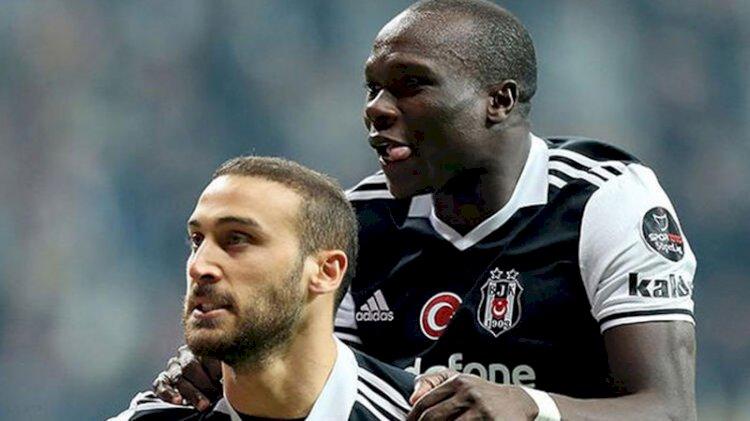 PFDK'dan Beşiktaşlı Cenk Tosun ve Aboubakar'a ceza