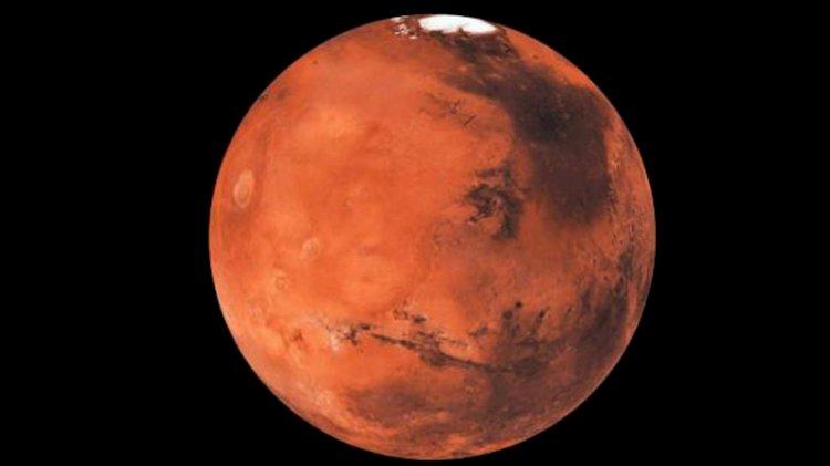 Çin, Mars'a indi