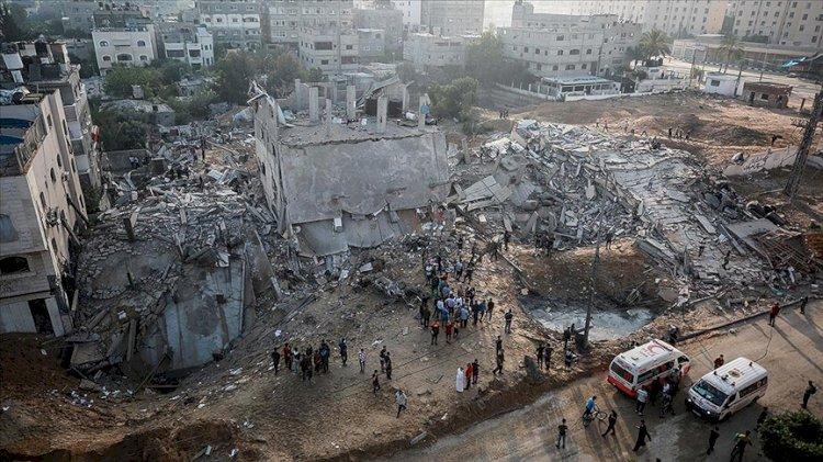 İsrail'in saldırılarında 10 Mayıs'tan bu yana 41'i çocuk, 23'ü kadın 145 Filistinli hayatını kaybetti