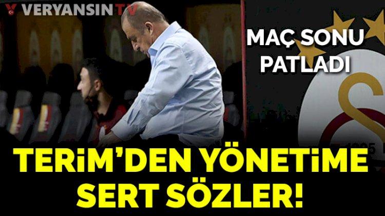 Fatih Terim'den Yeni Malatyaspor maçı sonrası yönetimi bombaladı