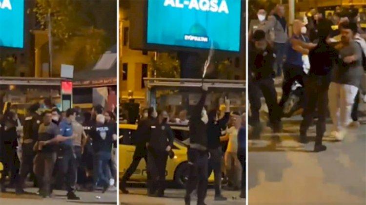 Beşiktaş taraftarının kutlamalarında bekçiler havaya ateş açtı