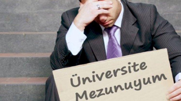 Çarpıcı veri: Her 4 işsiz gençten 1'i üniversite mezunu