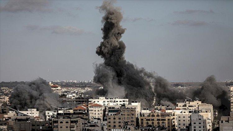 Gazze'ye saldırılarda can kaybı 212'ye yükseldi