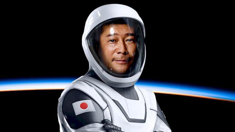 Japon milyarder uzaya yapacağı gezi için kesenin ağzını açtı