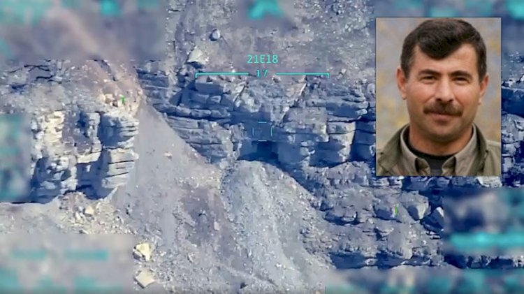 Görüntüler paylaşıldı... PKK'nın Suriye'deki 1 numarası böyle vuruldu