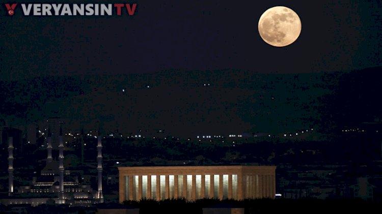 Memleketten 'Süper Ay' manzaraları