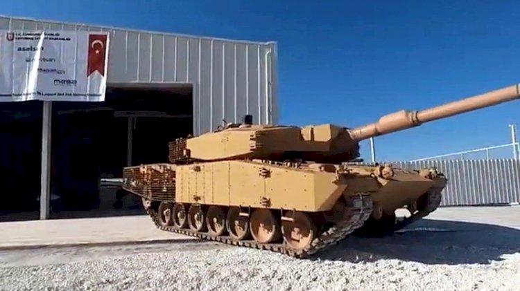 Yerli ve milli tank Leopard 2A4 Mehmetçik'in hizmetinde