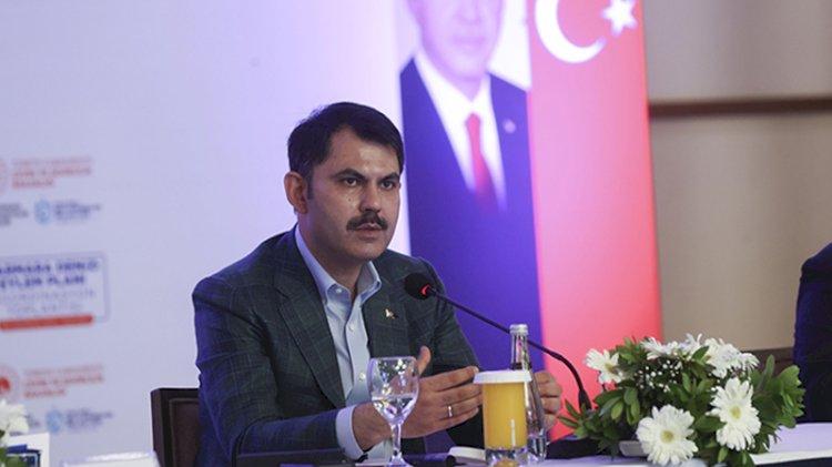 Bakan Kurum Marmara için acil eylem planını açıkladı