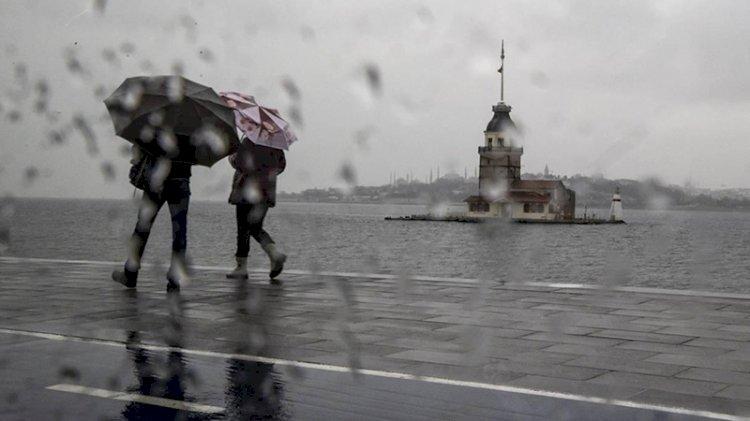Meteoroloji İstanbul için uyardı: 4 gün sürecek yağış geliyor