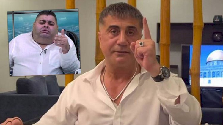 Sedat Peker gazeteciyi tehdit ettiğini doğruladı