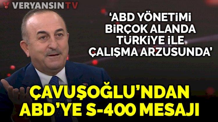 Çavuşoğlu'ndan S-400 mesajı: Dayatmayla bu iş çözülmez