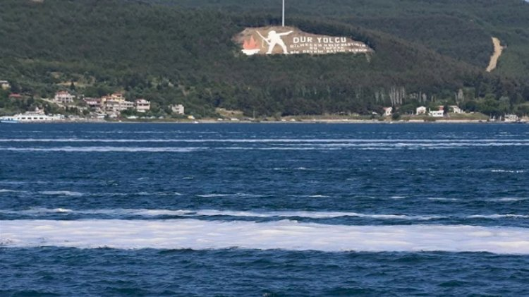 Deniz salyası Ege'ye doğru ilerliyor