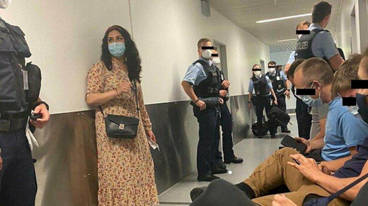 PKK'ya 'canlı kalkan' olmak için Irak'a gidiyorlardı... Havalimanında durduruldular