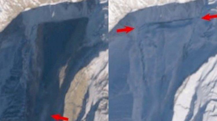 Buzul felaketinde korkutan rapor: 15 atom bombasına eşdeğer enerji serbest kaldı