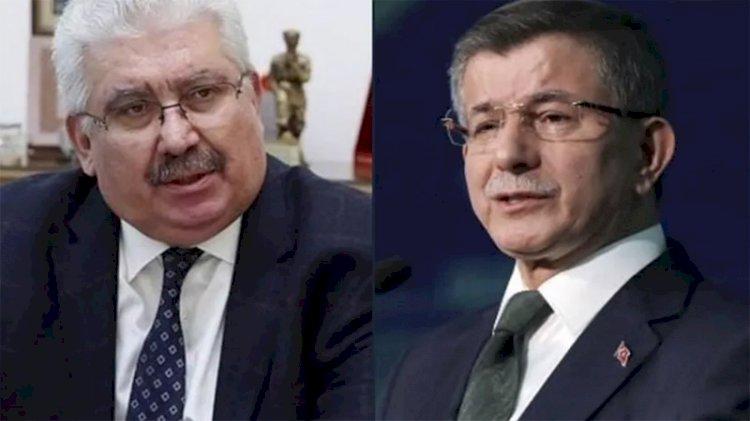 Davutoğlu'nun tepkisine MHP'nin yanıtı: FETÖ taktiği