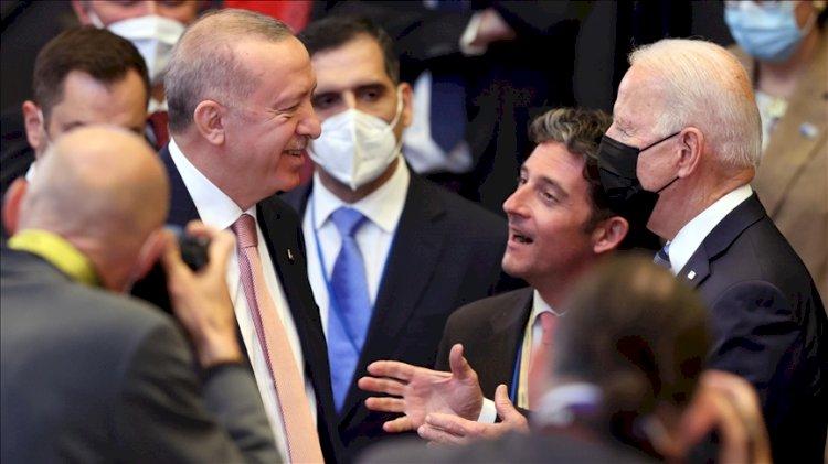 Erdoğan - Biden görüşmesi 1 saat ertelendi