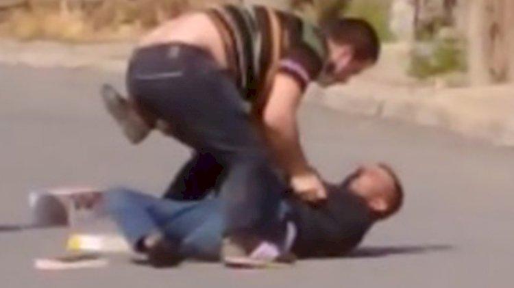 Tabancayla yaralanan doktorun saldırganı etkisiz hale getirmesi kamerada