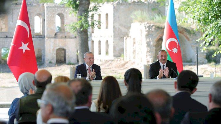 Erdoğan ve Aliyev 'Şuşa Beyannamesi'ni imzaladı