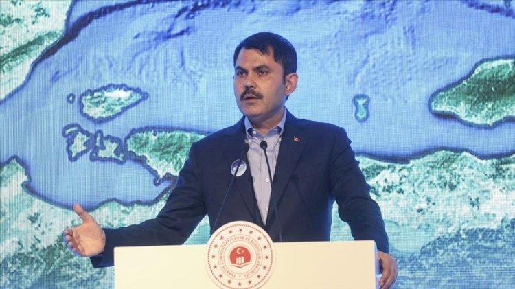 Murat Kurum: Müsilajın tehlikeli atık olmadığı tespitini yaptık