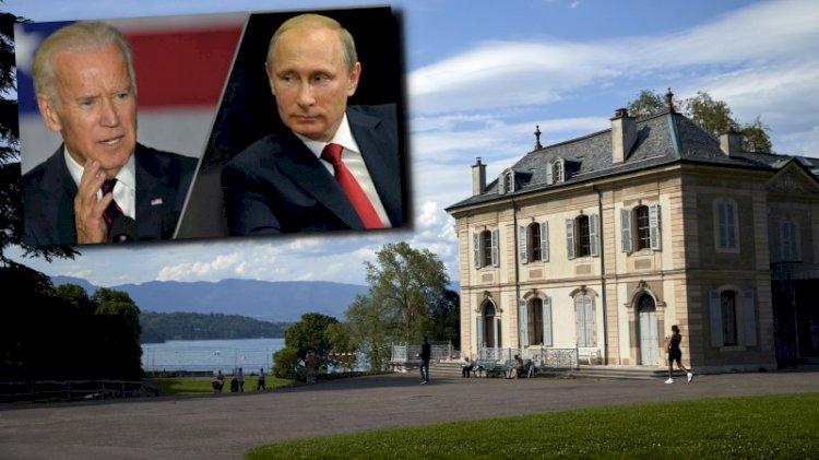 Büyük zirve... Biden-Putin görüşmesi için ilginç mekan
