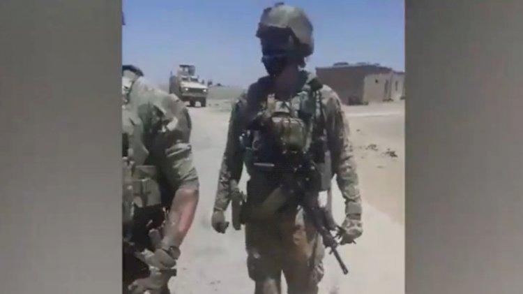 Amerikan askerlerinin önünü kestiler: Yallah!