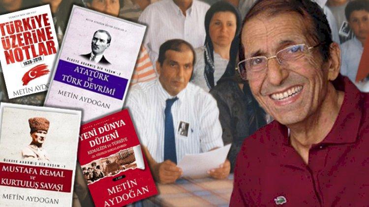 Kemalizme adanmış bir hayat... Metin Aydoğan aramızdan ayrılalı 1 yıl oldu