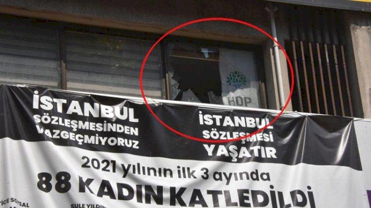 HDP binasına silahlı saldırı... Saldırganın ilk ifadesi ortaya çıktı