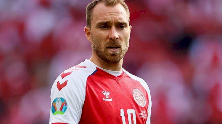 Maçta kalp krizi geçirden Christian Eriksen'ın sağlık durumu hakkında yeni gelişme