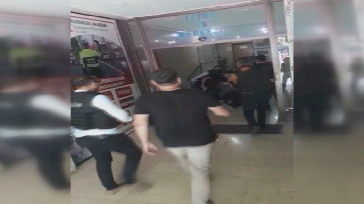 Yeni görüntüler ortaya çıktı… Saldırgan işte böyle yakalandı