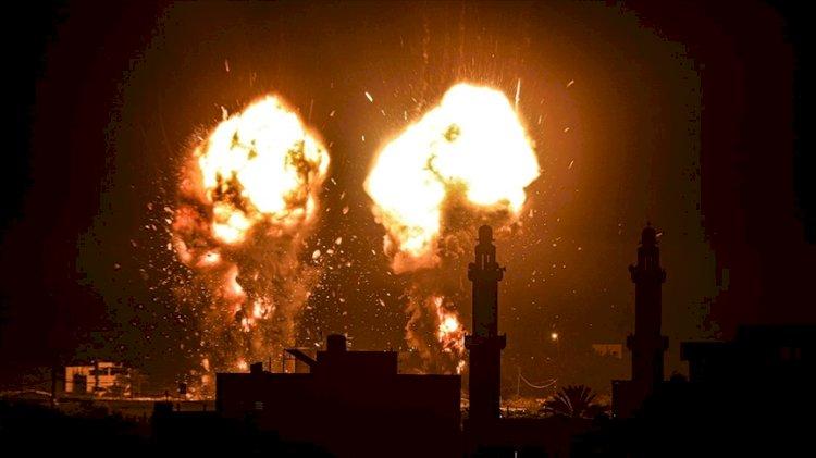 İsrail yine Gazze'ye saldırdı