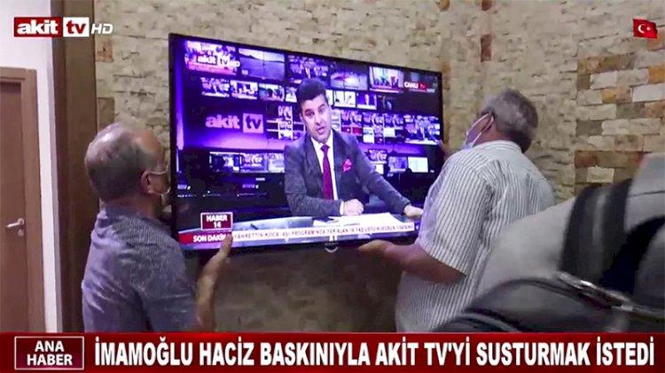 İmamoğlu'na tazminatı ödemeyen Akit TV'nin eşyalarına haciz