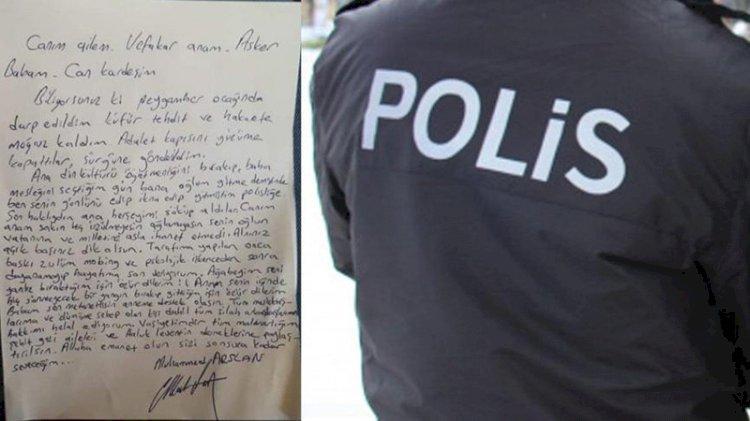 İntihar mektubu bırakıp kaybolan polis memurundan haber var